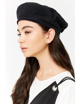 Woven Adjustable Beret by F21 Contemporary