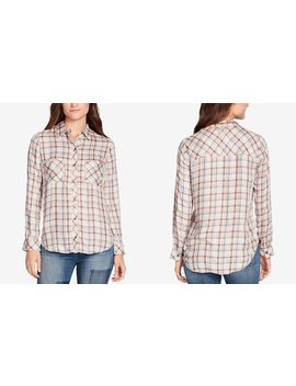 Carina Plaid Two Pocket Shirt by William Rast