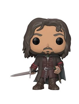 Funko Pop Movies: Lord Of The Rings/Hobbit Aragorn Collectible Figure by Fun Ko