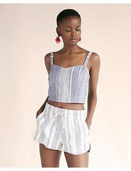 Stripe Utility Shorts by Express
