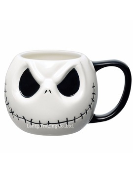 "Jack Skellington Mug, ""The Nightmare Before Christmas"" Cartoon Coffee Mug Tea Cup by Yufang Li"