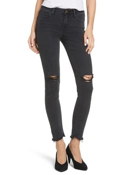 Tate Distressed Skinny Jeans by Evidnt