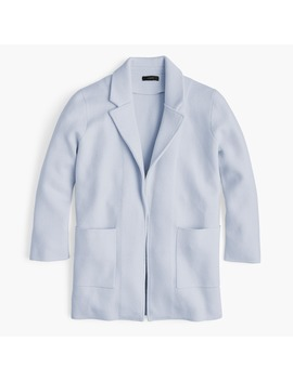 New Lightweight Sweater Blazer by J.Crew
