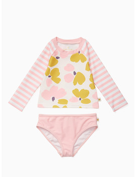 Babies' Two Piece Rashguard by Kate Spade