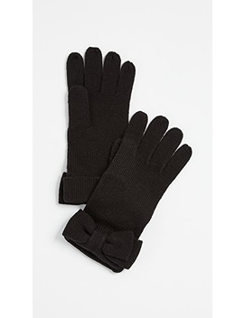 Half Bow Gloves by Kate Spade New York