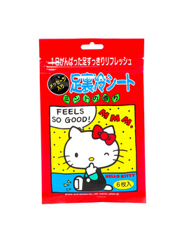 Hello Kitty Foot Cooling Sheet by Think Geek
