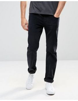 Levi's 511 Slim Cord Trousers Black 5 Pocket by Levi's