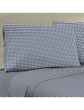 330 Thread Count 100% Cotton Sateen Full Xl Sheet Set In Black/White by Bed Bath And Beyond