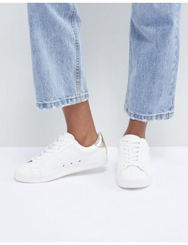 Asos Design Delina Lace Up Trainers by Asos Design