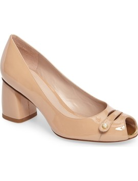 Tabeta Open Toe Pump by Stuart Weitzman