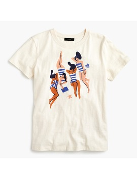 Sunbathers T Shirt by J.Crew