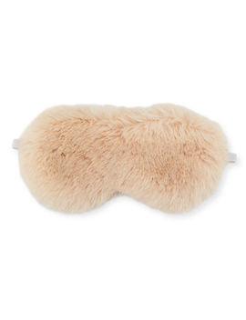 Faux Fur Eye Mask On Gifting Card by Neiman Marcus