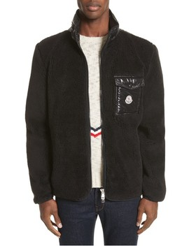 Polar Fleece Zip Jacket by Moncler