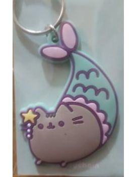 Pusheen The Cat Purrmaid Primark Keychain Keyring Charms Bnwt by Primark