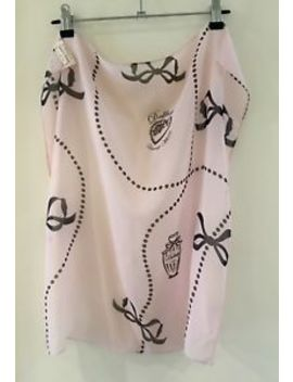 Wheels & Dollbaby Pink Silk Unwrap Me Scarf by Ebay Seller