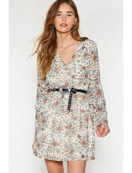 Leaf A Positive Impression Floral Dress by Nasty Gal