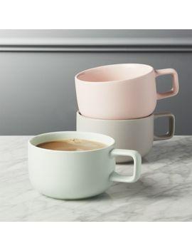 Major Large Mugs by Crate&Barrel
