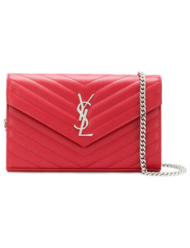 Monogram Chain Wallet by Saint Laurent Saint Laurent Saint Laurent Saint Laurent Saint Laurent Saint Laurent Saint Laurent