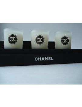 Chanel   Scented Candle  Bougies Parfumees  Set/ 3  New Vip Gift  From Chanel by Ebay Seller