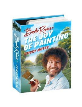 Bob Ross The Joy Of Painting Sticky Notes Booklet by The Unemployed Philosophers Guild