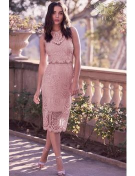 Lipsy Vip All Over Lace Midi Dress by Next