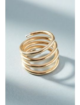 Tipped Coil Ring by Anthropologie