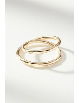 Infinity Ring by Anthropologie