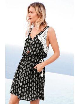 Printed Short Dress by Next
