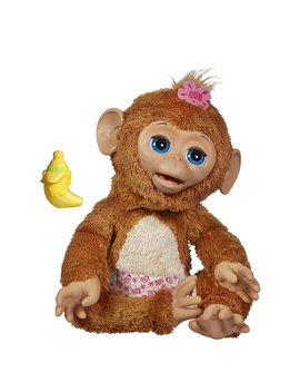 Fur Real Friends Cuddles My Giggly Monkey Pet by Fur Real Friends