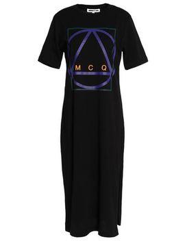 Printed Cotton Jersey Dress by Mc Q Alexander Mc Queen