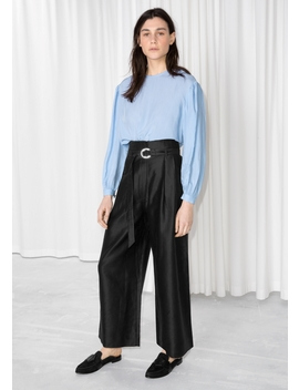 D Ring Belted Culottes by & Other Stories