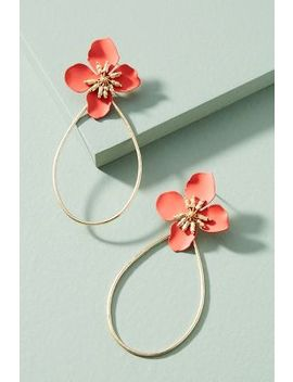 Mireille Floral Drop Earrings by Anthropologie