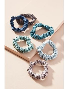 Satin Ponytail Holder Set by Anthropologie