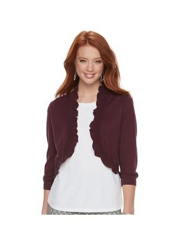 Women's Elle™ Ruffle Shrug by Kohl's