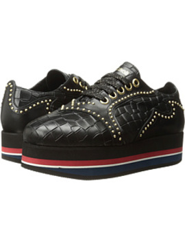 Cocco Printed Leather Sneaker by Just Cavalli