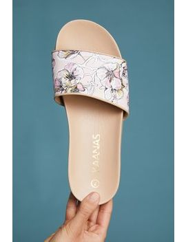 Kaanas Tulum Rose Slide Sandals by Kaanas