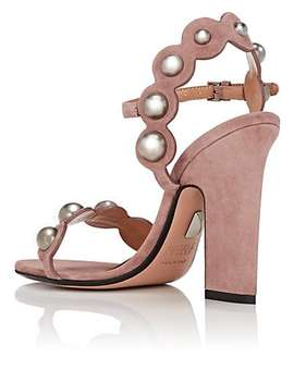 Lauren Suede Sandals by Samuele Failli