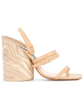 Wood Heel Sandals by Jacquemus