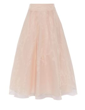 Iridessa Midi Organza Skirt by Coast