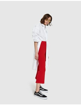 Falla Knit Pant In Red by Need Supply Co.
