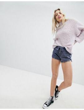 New Look Acid Wash Runner Shorts by New Look