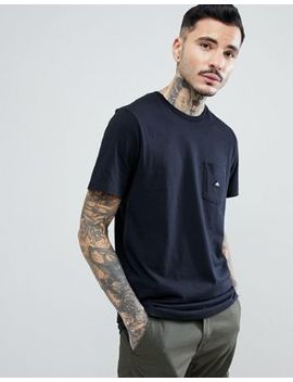 Penfield Southborough Logo Pocket T Shirt In Black by Penfield