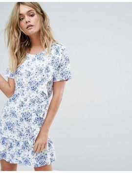 Missguided Frill Detail Floral Dress by Missguided