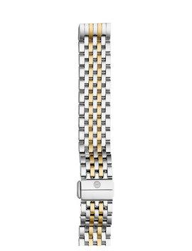 Deco Ii Midsize Seven Link Bracelet Strap, Two Tone by Michele