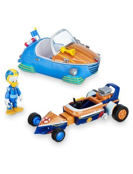 Disney Donald Duck Transforming Pullback Racer   Mickey And The Roadster Racers by Disney