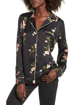 Floral Pj Shirt by Socialite