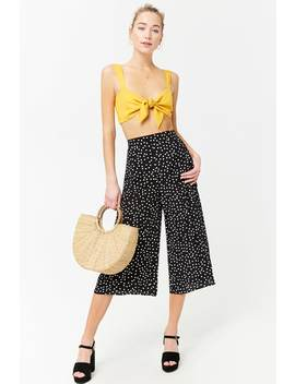 Polka Dot Culottes by Forever 21