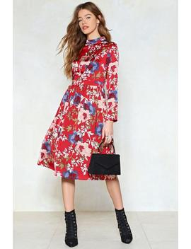 Garden Party Floral Dress by Nasty Gal