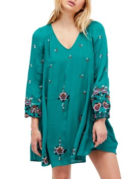 Embroidered Minidress by Free People
