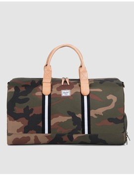 Novel Offset Weekend Bag In Camo/Black/White by Need Supply Co.